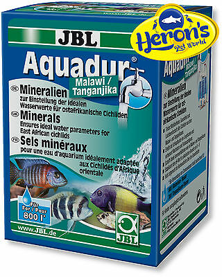 JBL Aquadur 250g Malawi / Tanganjika Mineral Salts for Cichlids RO Soft Water