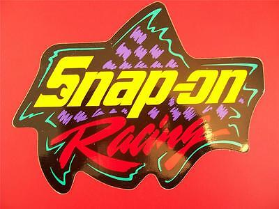 """Snap-on Tools Racing"" Decal / Sticker, NEW! Large (9-3/4"" x 13-1/2"") size"