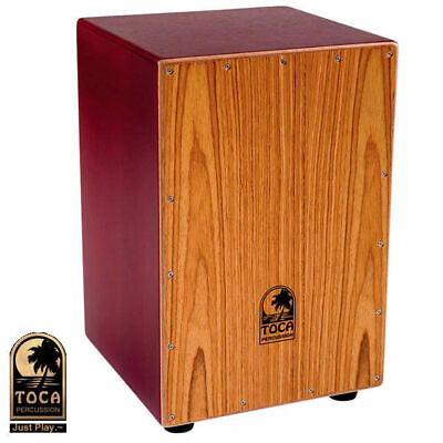 Toca Coloursound Red Cajon Drum