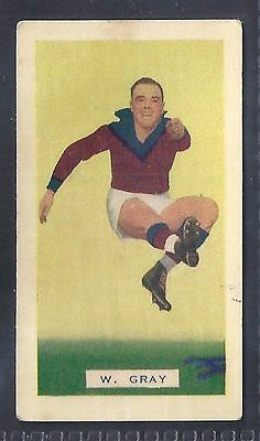 Hoadleys-Victorian Football Ers (Action)-Aussie Rules-#031- Fitzroy - Gray