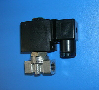 "1/4"" Electric Solenoid Valve 12-VDC Air Diesel Water..new"