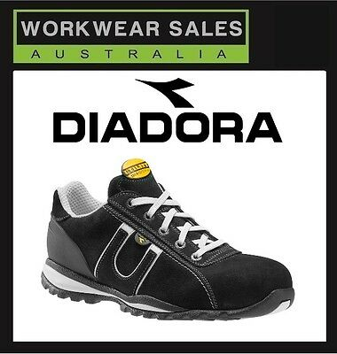 Diadora Glove Mens Work Shoe Safety Boots Steelcap Free postage