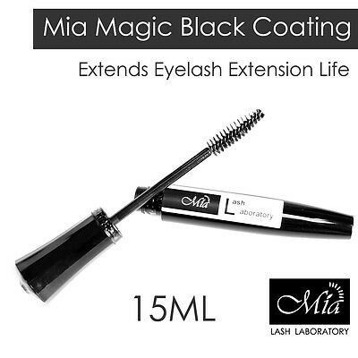 Mia 15ml Black Lash Coating Eyelash Extension Sealant Sealer Concealer Aftercare