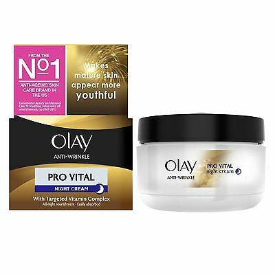 Olay Anti-Wrinkle Pro Vital Night Cream 50ml