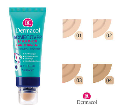 DERMACOL ACNECOVER MAKE UP & CORRECTOR ACNE COVER FOUNDATION 30g