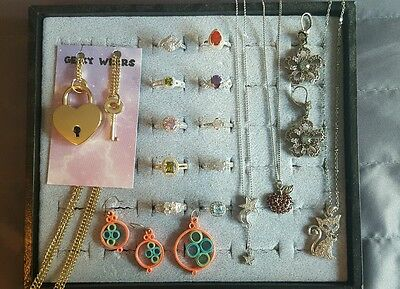 HUGE Jewelry Lot!  Rings, Earrings and Necklaces