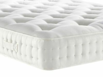 Pocket Spring Mattress Luxury Damask Fabric Micro Quilt Borders Hypo-Allergrnic