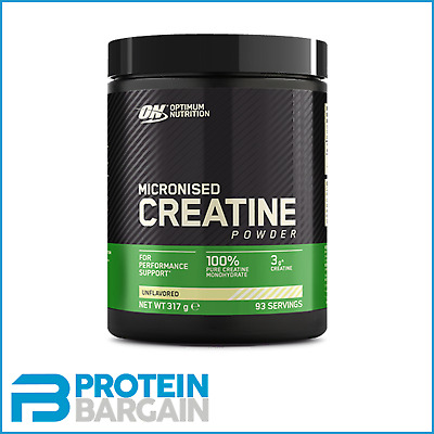 Optimum Nutrition Creatine Powder Micronized Monohydrate 100% 317g