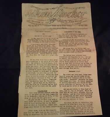 WWII 1945 S.S. Victory Ship Newsletter