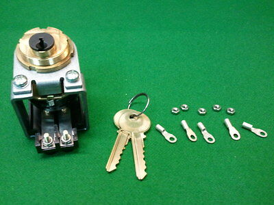 Otis Key Operated Switch Contact  Model 6410H1  New With Keys