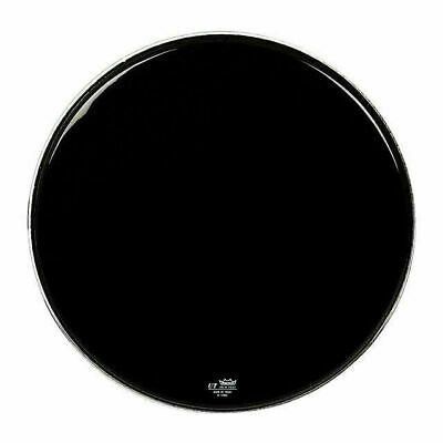 "Remo Black PS3 22"" Resonant UT Bass Drum Head with Control Ring"