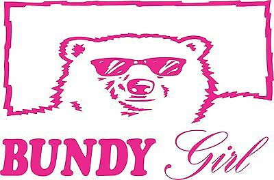 Bundy Girl 250 x 165 Quality Sticker UV rated