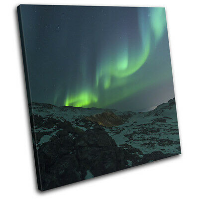 AURORA BOREALIS NOTHERNLIGHTS GREEN PHOTO ART PRINT POSTER PICTURE BMP201A