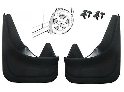 Pair Moulded Universal Fit Mud Flap Mudflaps Front or Rear to suit Toyota Models