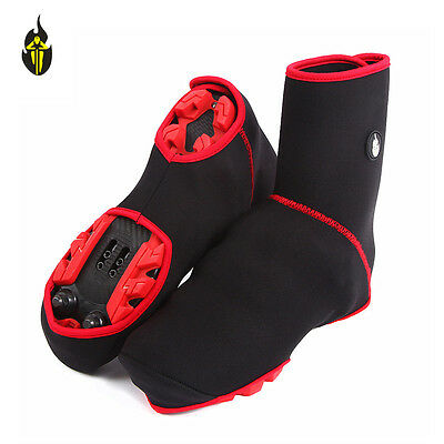 Windproof Cycling Sport Shoe Covers Winter Bicycle Bike Overshoes Thermal