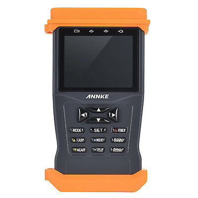 """ANNKE HVT 3.5"""" Touch Screen IP Camera Tester Audio UTP Cable PTZ Control WIFI"""