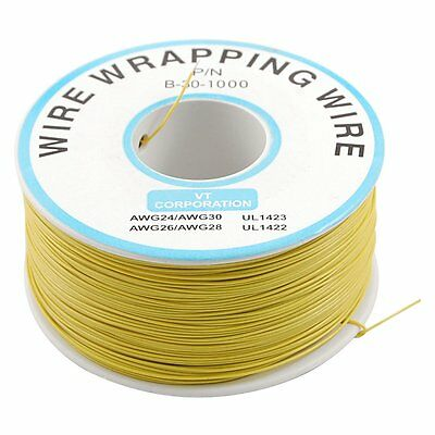 PVC Coated Tin Plated Copper Wrapping Wire Wrap 305M 30AWG Cable Reel DM