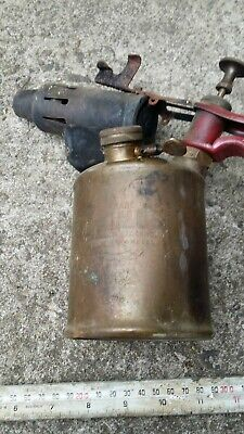 Swedish Primus No.632 Blow Lamps, copper Kerosene cylinder type