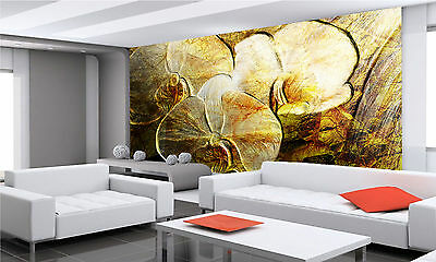 Orchid Flowers Grunge Wall Mural Photo Wallpaper GIANT DECOR Paper Poster