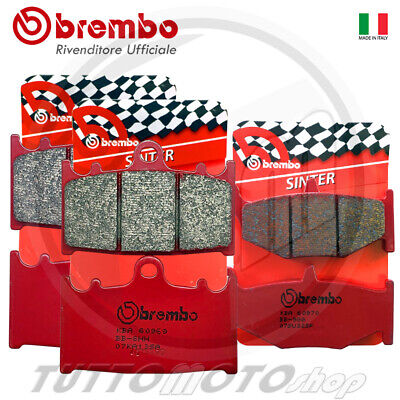 Kit Pastiglie Freno Brembo Rosse Sinter Ant+Post Suzuki Gsr 600 2006 2007 2008