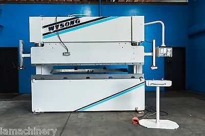 100 Ton x 10'  Wysong Model MTH100-120 CNC Hydraulic Press Brake, S/N MT7-195