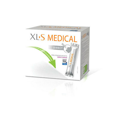 NEW XLS Medical Direct Weight Loss Powder Sachets 90 Pack Dietary Supplements