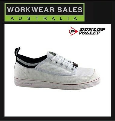 DUNLOP VOLLEYS Steel Cap Safety Shoes Volley Original Classic WorkBoot UK Sizing