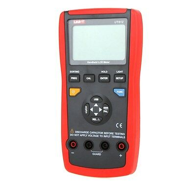 UNI-T UT612 USB Interface LCR Meter Inductance Calibration Function 20000 Counts