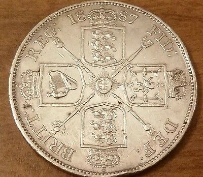 Great Britain Double Florin, 1887