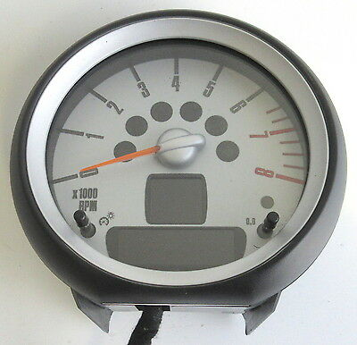 Genuine Used BMW MINI Rev Revolution Counter for R56 R55 R57 R58 R59 - 9153402