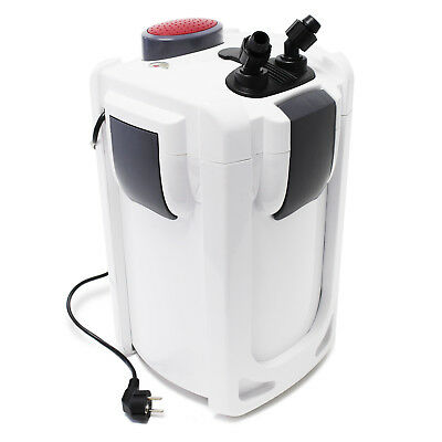 TTSunSun HW-702B Aquarium External Canister Filter 1000l/h 15W 9W UVc & 3 Stages