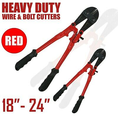 "14 18 24 36 42 & 48"" Heavy Duty Carbon Steel Cable Wire Bolt Cutter Cropper Tool"
