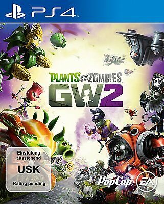 Plants vs. Zombies Garden Warfare 2 + Bonus-DLC PS4  NEU & OVP