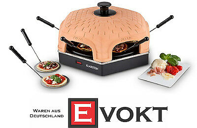 Klarstein Capricciosa Mini Pizza Oven Pizzarette For 6 1200W Genuine New