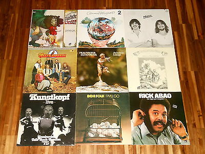 Krautfolk - German Folk - SAMMLUNG - 9 LPs - Beda Folk - Falckenstein - Newsic