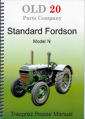 Fordson Series 'N' repair manual