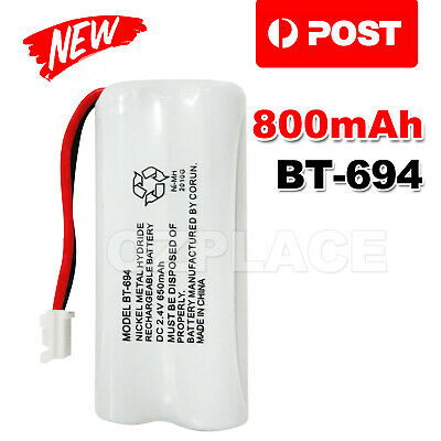 800mAh 2.4V Ni-MH Cordless Phone For Uniden Battery BT-694 BT 694 BT-694S