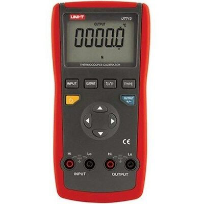 UNI-T UT713 Process Calibrator Digital Thermocouple USB Interface Auto Power Off