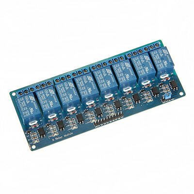 8-Kanal Relais Modul 5V/230V Optokoppler 8-Channel Relay Arduino Raspberry