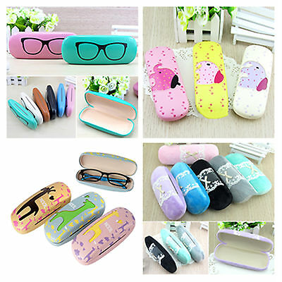 Nob Cute Plush Lace Sunglasses Reading Glasses Carry Case Bag Hard Box Travel
