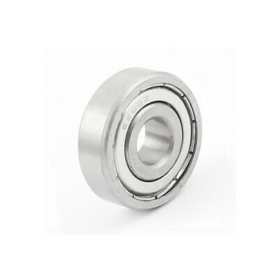 10x30x9mm Metal Deep Groove Guide Pulley Rail Ball Bearing Wheel 6200Z