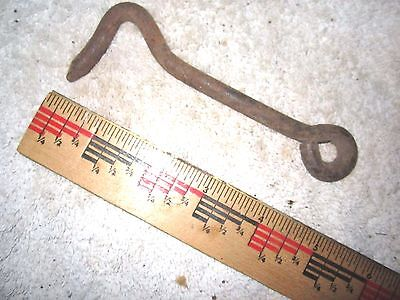 "Antique Vintage 5"" Rustic Gate, Barn Door, Shed, Hook, Lock, Latch"