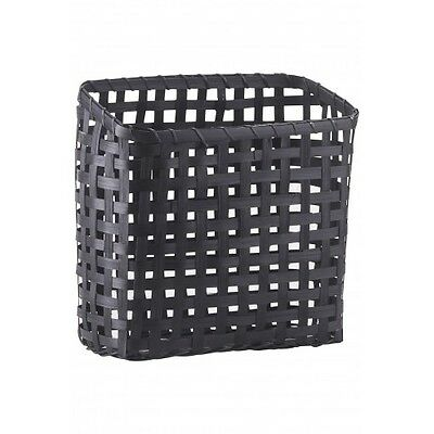 Bamboo Magazine Rack Basket Cube Danish Design by House Doctor