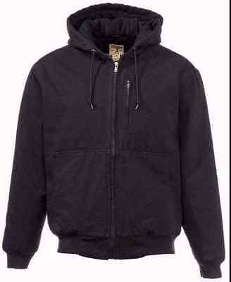 RedHead Workhorse Heavy Duty Canvas Utility Hooded Jacket New On SALE