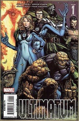 Ultimatum #1 - VF/NM - 1st Print