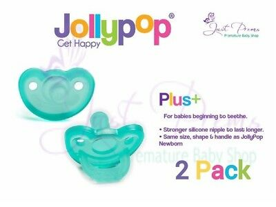 Jollypop Dummy~ the new gumdrop ~3 month plus Teal 2 pack