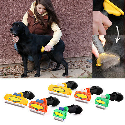 Pet Hair Tool Long Short Grooming Brush Comb For Small Medium&Large Dogs Cats FS