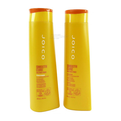 JOICO - SMOOTH CURE - Sulfate Free - Shampoo und Conditioner - Set 2 x 300 ml