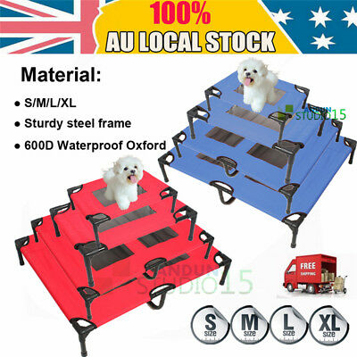 Heavy Duty Pet Dog Bed Trampoline Hammock Beds Cat Puppy Cover Machine Washable