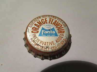 Crown Seal Bottle Cap Coca Cola Fanta Orange Southern Bott Adelaide Unused 1960